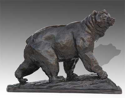bronze wildlife sculpture artist